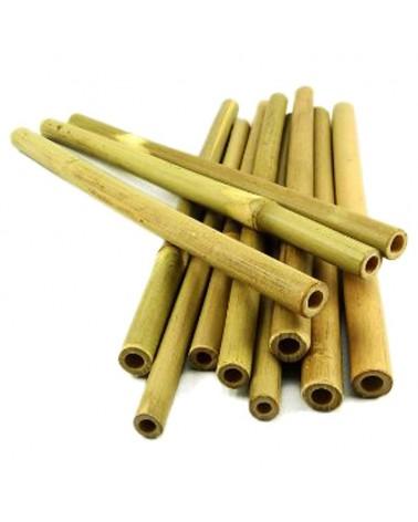 Bombillas de Bamboo paq. 12 unidades