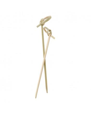 Brocheta Bambú Roseta 12 cm.