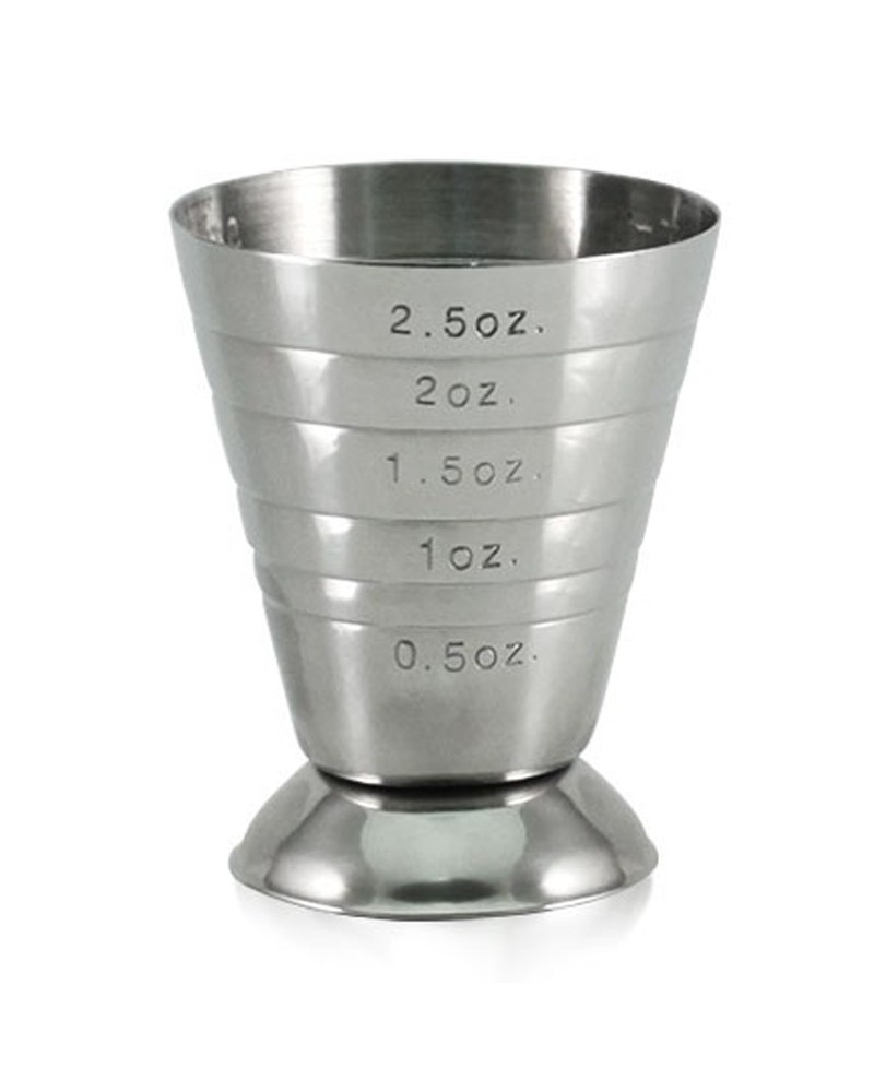 Jigger Multi level acero inox.